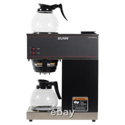 VPR 12-Cup Commercial Coffee Maker With 2 Glass Decanters (P/N 33200.0015)