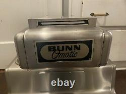 Vintage Bunn Commercial Coffee Maker CRTF5-35 5 Warmers