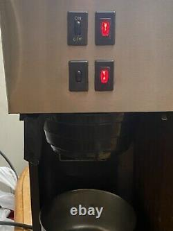 Vintage Bunn Pour-Omatic Commercial Coffee Maker Pour Over Brewer Warmer TESTED